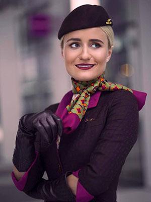 Andreea, Etihad Airways