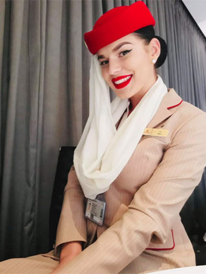 Mirabele, Emirates Aiways